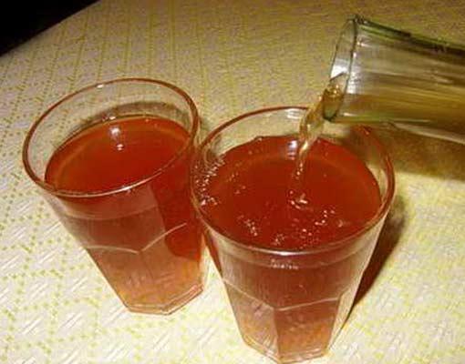 Терновый квас с медом