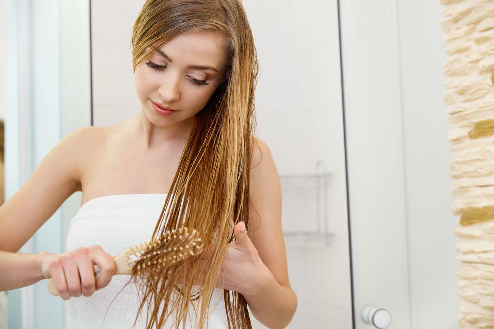 Настойка против сухих и ломких волос