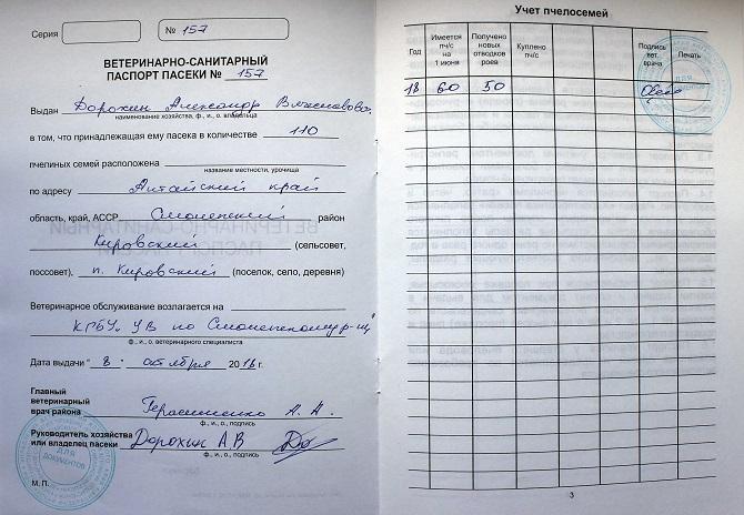 Подписи и печати в паспорте