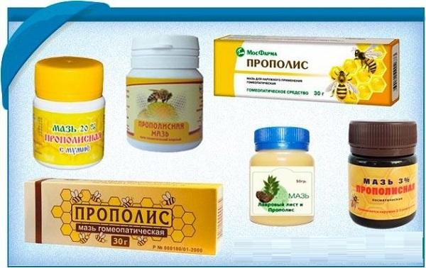 Препараты на основе прополиса