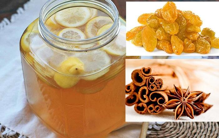 Медовуха вкуснейшая с лимоном, изюмом и корицей