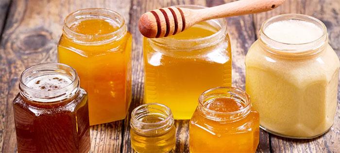 Различные сорта меда