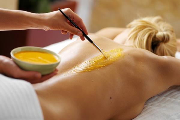 Медовый массаж с лимоном