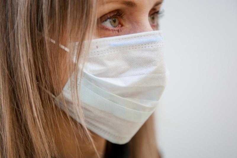 Противовирусная маска с прополисом