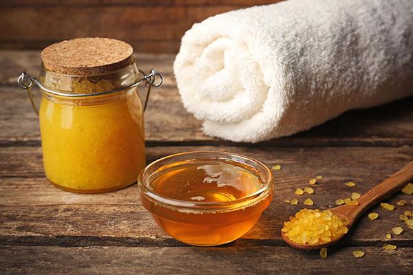 Скраб из меда