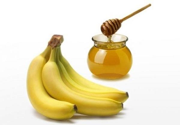 Мед и банан