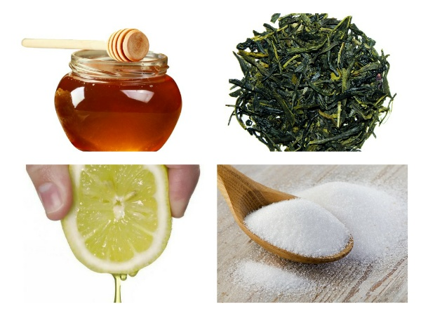 Медово-чайный скраб