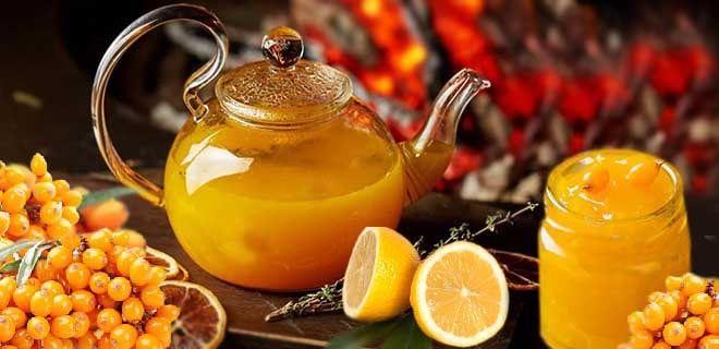 Облепиха с лимоном и медом