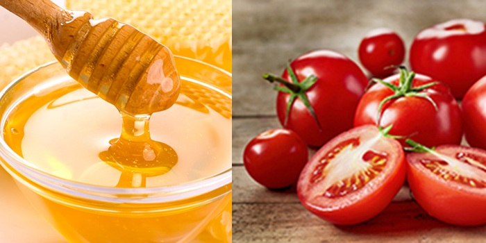Помидоры и мед