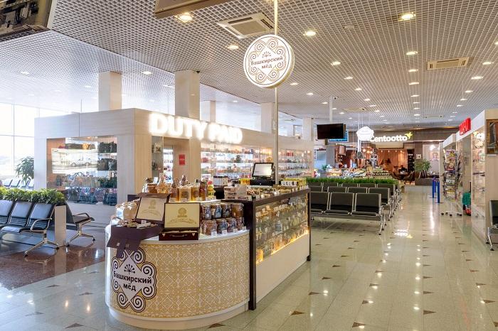 Продажа меда в Дьюти фри