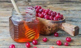 Калина с медом на зиму