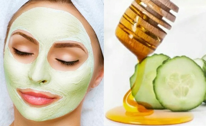 Огуречно-медовая маска для лица