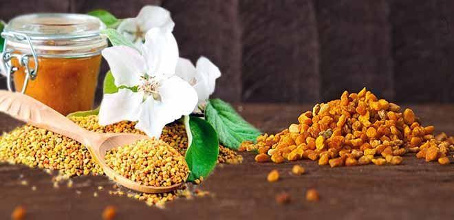 Пчелиные продукты на столе