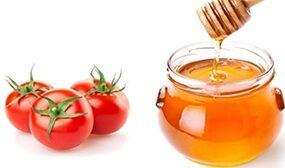 Помидоры с медом на зиму