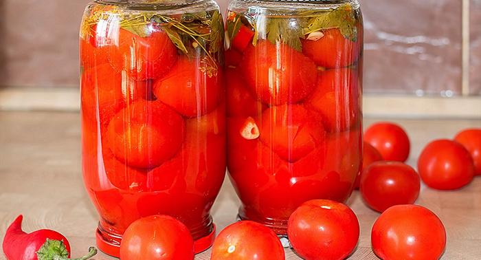 Рецепт помидоров в медовом маринаде