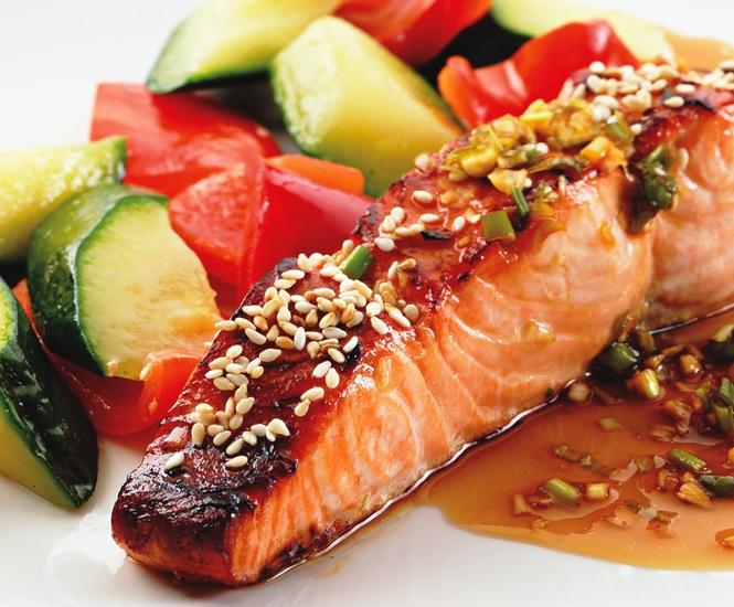 Рыба в соусе