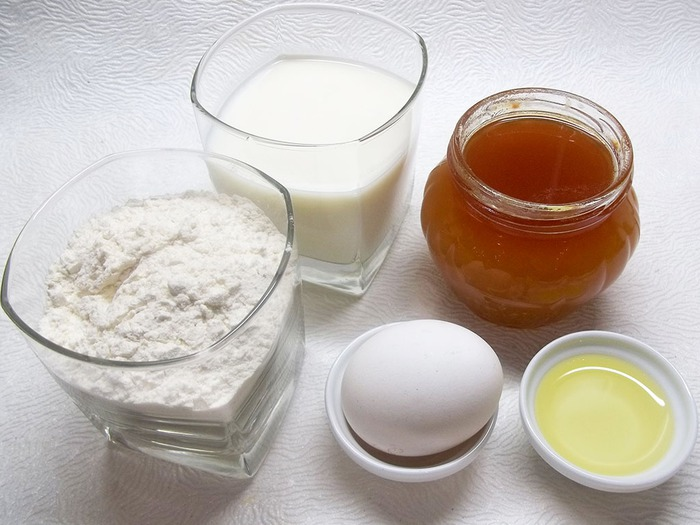 Ингредиенты для медовых пряников