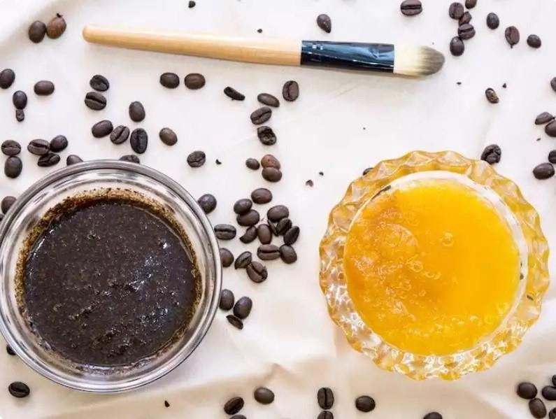 Кофейно-медовый скраб