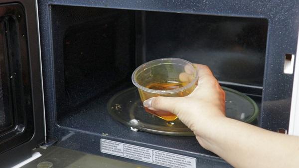 Мед в микроволновке