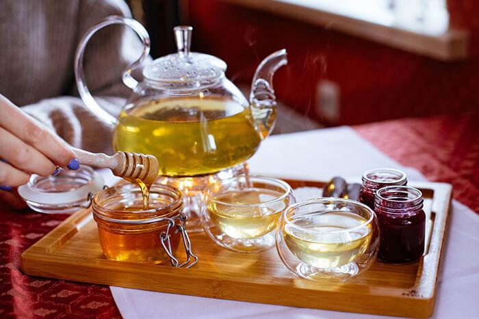 Чаепитие с медом