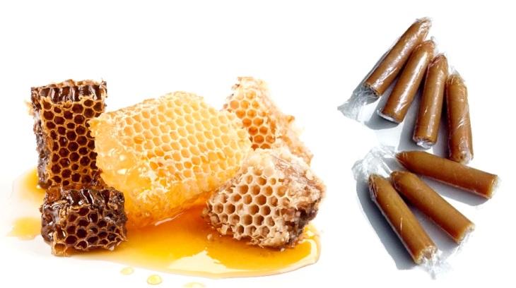 Тампоны с медом и прополисом